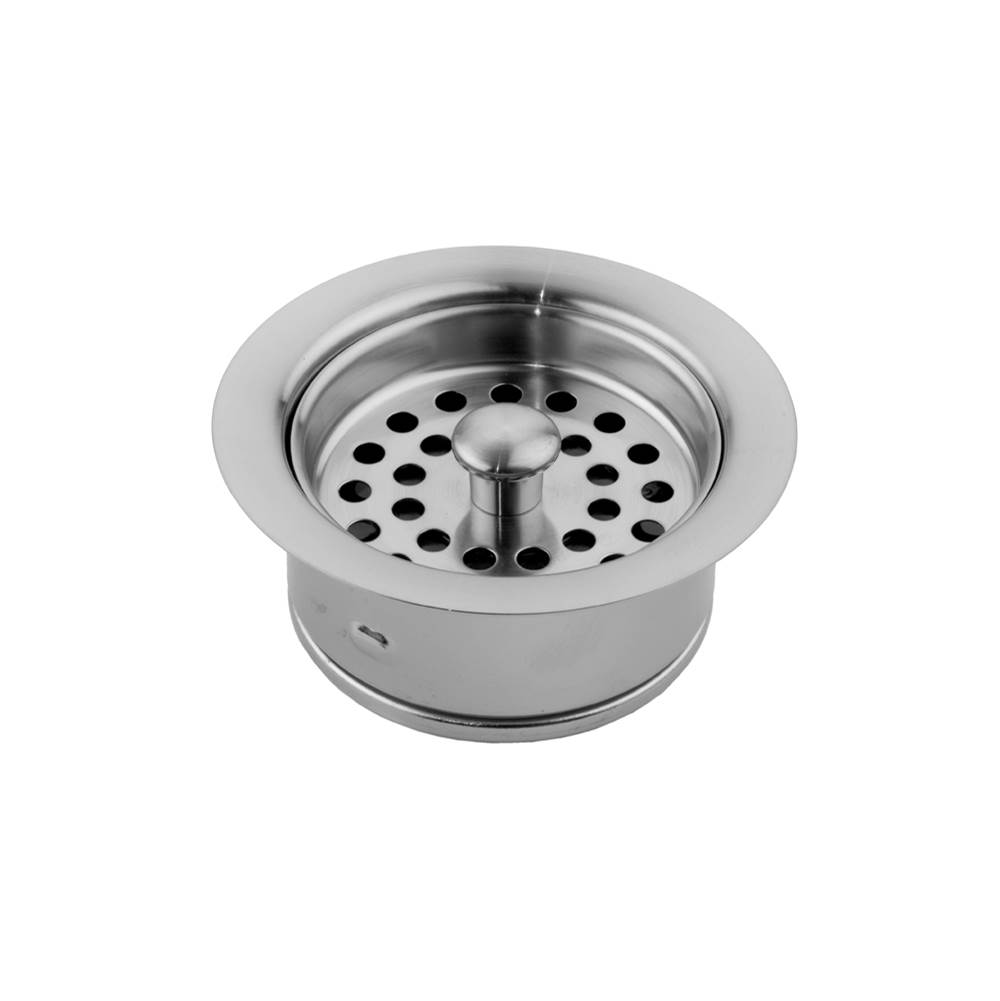 Jaclo 2806-PN Duo Strainer for Kitchen Sinks Polished Nickel Standard Plumbing Supply