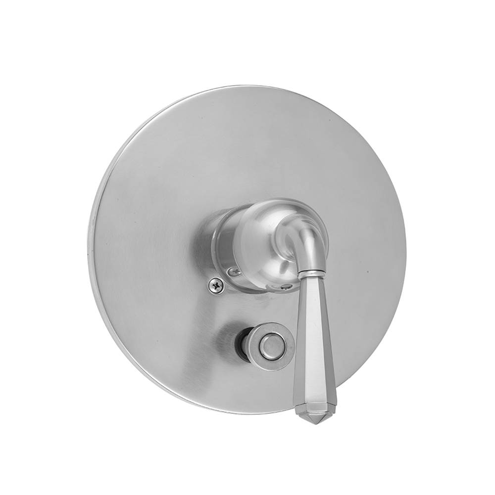 Jaclo A496-TRIM-BKN Traditional Oval Pressure Balance Valve with Lever Handle Black Nickel