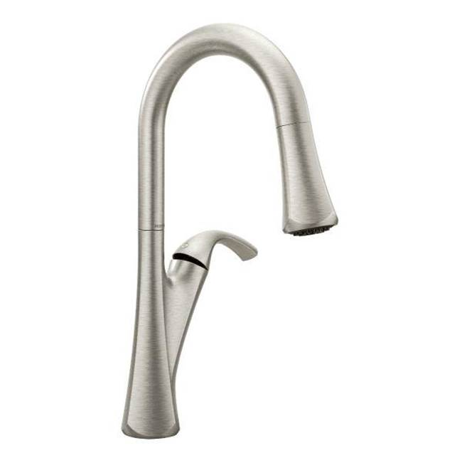 Moen 9124SRS at Rampart Supply Single Hole Kitchen Faucets ...