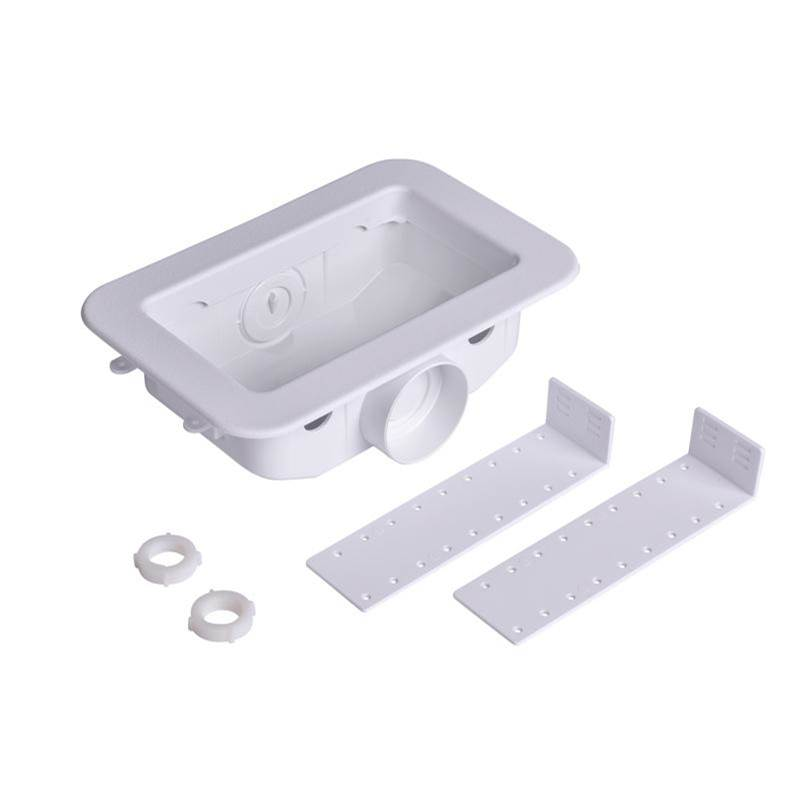 Oatey 38290 Plastic 2-Inch x 4-Inch Faceplate