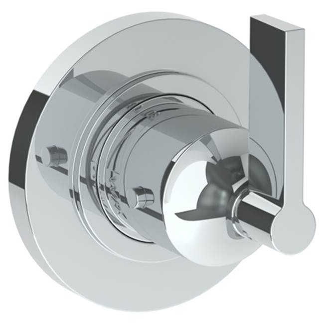 Jaclo T739-TRIM-WH Oval Thermostatic Valve Trim with Lever Handles White